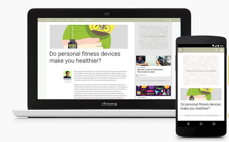 Google lance Contributor, une laternative à sa publicité