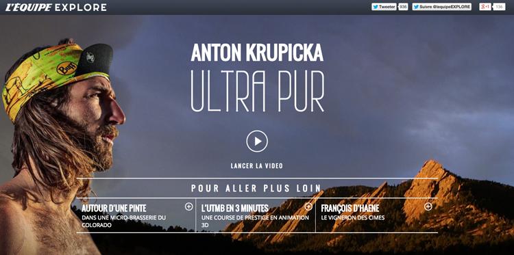 Capture d'écran de l'Equipe vidéo