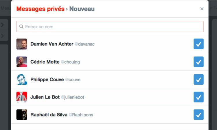 Twitter introduit les groupes de discussion privés et la vidéo sur mobile