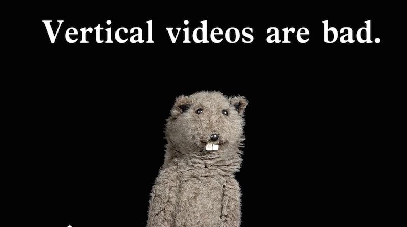 Extrait de la vidéo Vertical Video Syndrom