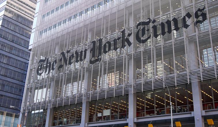 New York Times : un an après son rapport détonant, où en est le géant de la presse américain ?