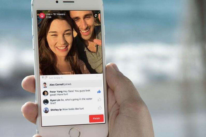 Diffuser de la vidéo en direct sur Facebook: c'est possible pour tous les utilisateurs