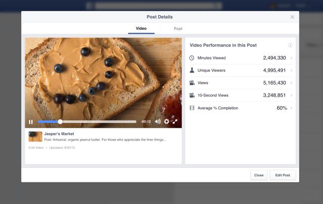 Facebook et Instagram ajoutent plein de nouvelles statistiques