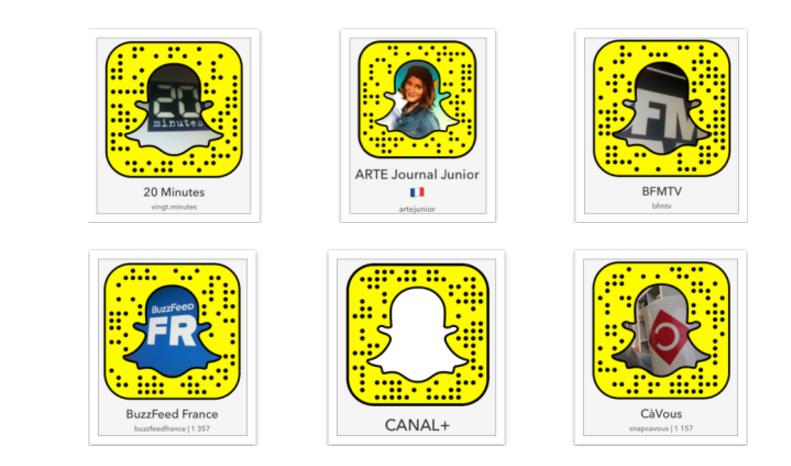 Snapchat, de nouvelles possibilités pour raconter des histoires