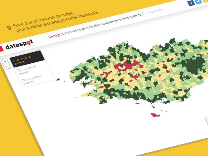 Datajournalisme : le bon spot breton !