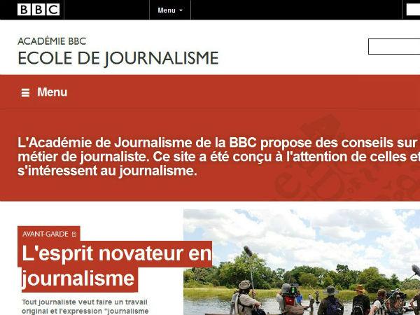 La BBC lance une version française de son académie en ligne