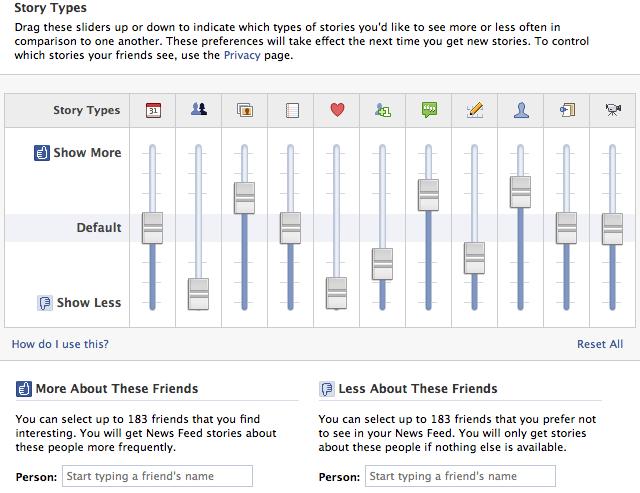 Petites et grandes histoires de l'algorithme de Facebook