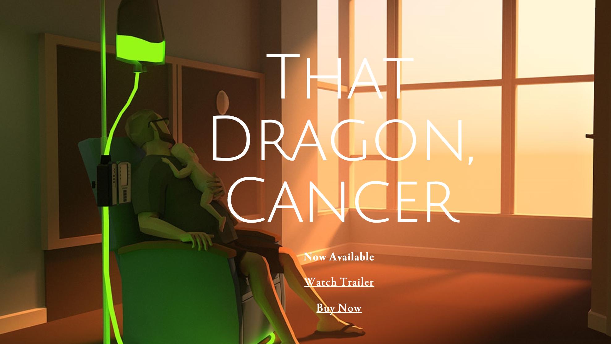 """Capture d'écran du jeu """"That Dragon Cancer"""""""