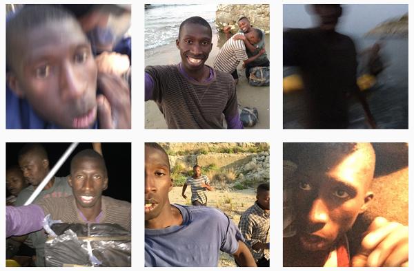Faux compte Instagram de migrant