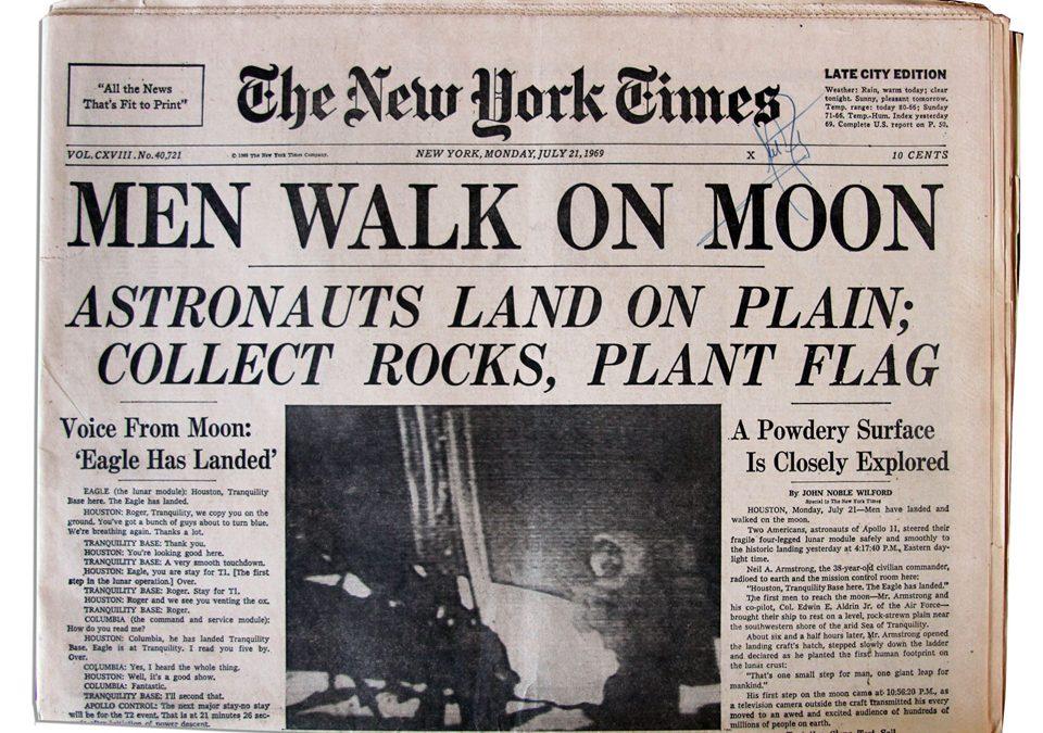 Voici à quoi ressemblera le New York Times demain