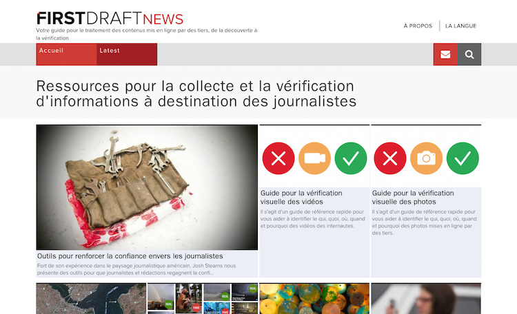 First Draft News : l'outil collaboratif contre les fausses infos